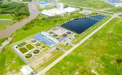 Thanh Thanh Cong Wastewater Treatment Plant Phase 1